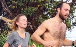 Alizee Thevenet, James Middleton, st barth's