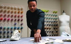 Jelani Hankins, designer, shoes