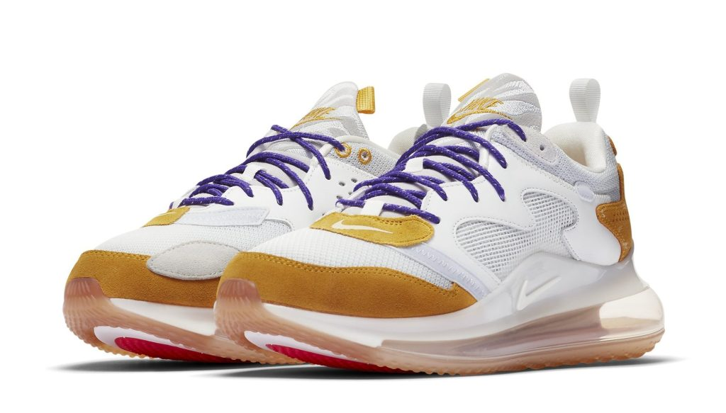 Nike Air Max 720 OBJ 'Canyon Gold/Hyper Grape'