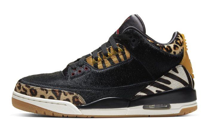 Air Jordan 3 Animal Instinct, sneakers, aj3, tinker hatfield