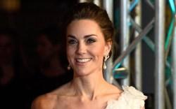 Kate Middleton, baftas, celebrity style, red