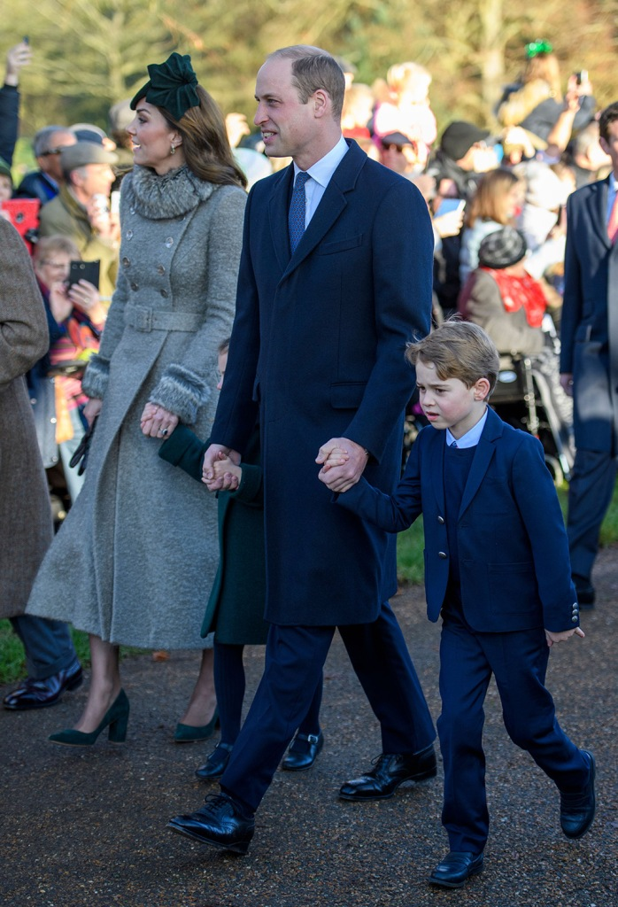 Catherine Duchess of Cambridge Princess Charlotte Prince William Prince GeorgeChristmas Day church service, Sandringham, Norfolk, UK - 25 Dec 2019