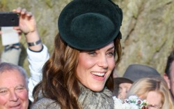 Kate Middleton, church, christmas day, united