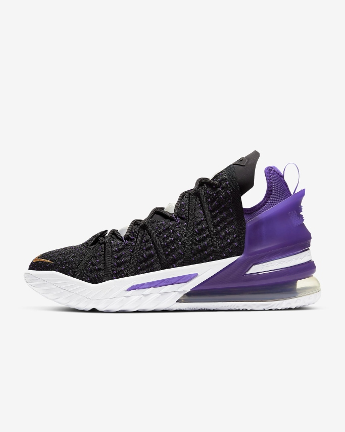 nike lebron 18 basketball shoe