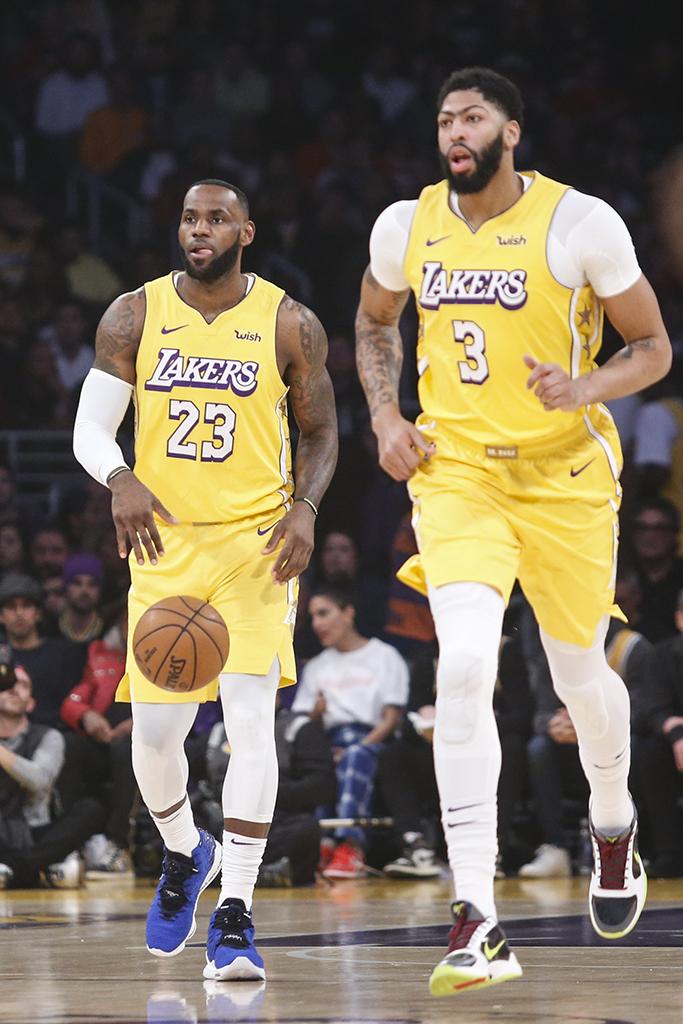 LeBron James Nike LeBron 17 More Than an Athlete Anthony Davis Nike Kobe 5 Protro Chaos
