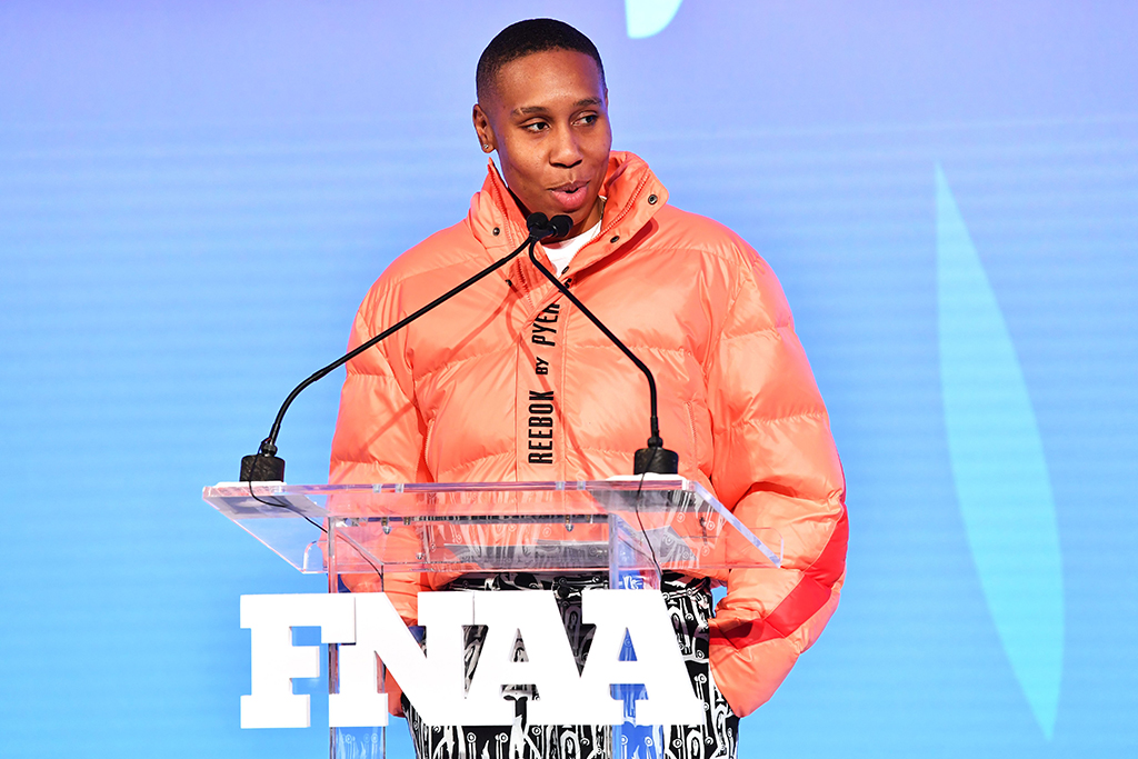 Lena Waithe33rd Annual Footwear News Achievement Awards, Inside, New York, USA - 03 Dec 2019