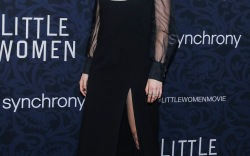 Celebrities at the 'Little Women' Premiere