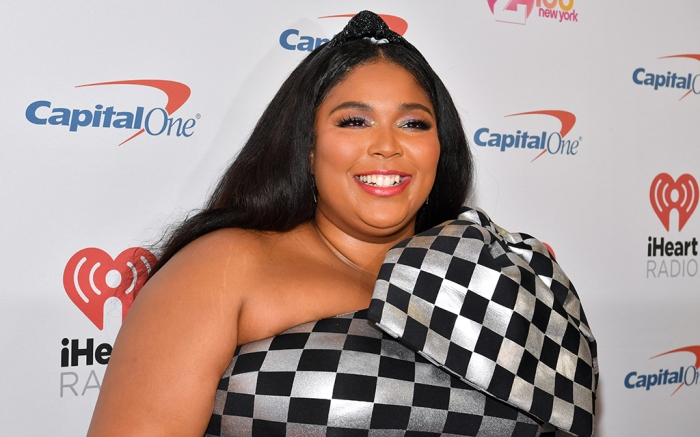 Lizzo, red carpet arrivals, 2019 Jingle Ball NYC