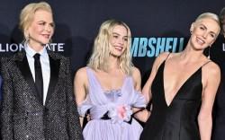 Nicole Kidman, Margot Robbie and Charlize