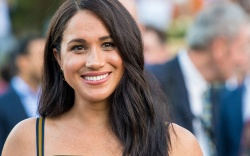 Meghan Duchess of Sussex during a