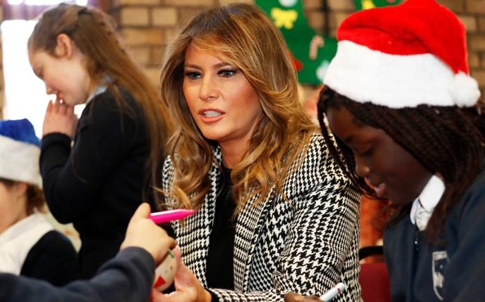 Melania Trump, London, United Kingdom – 04 Dec 2019
