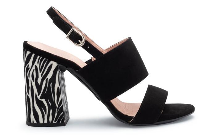 MIme et Moi, muse sandals, interchangeable heels