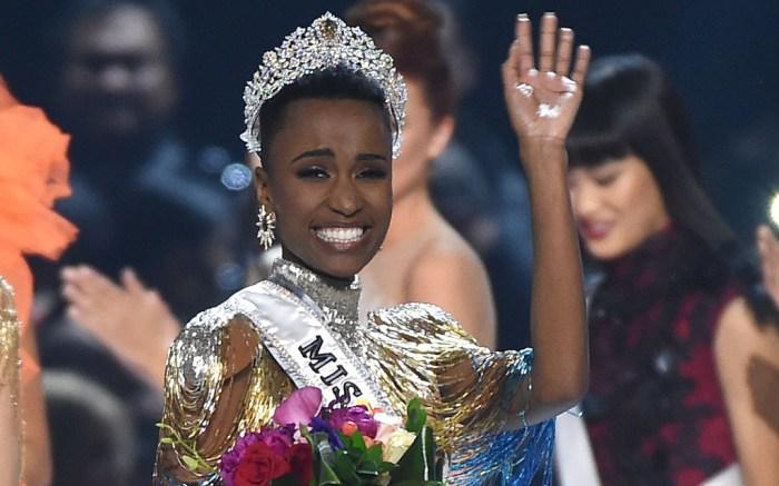 Zozibini Tunzi, miss south africa, miss universe 2019
