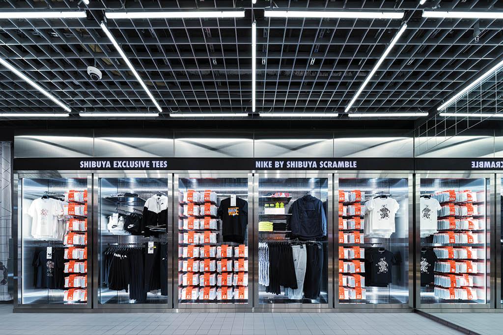 Nike Shibuya Scramble store