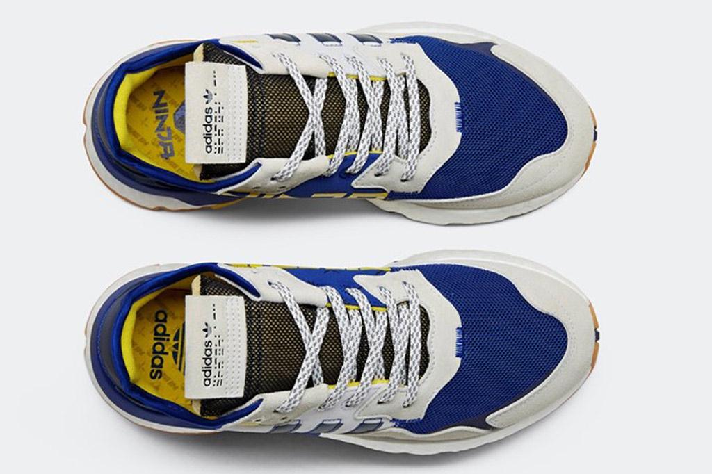 Ninja x Adidas, time in, nite jogger, sneakers