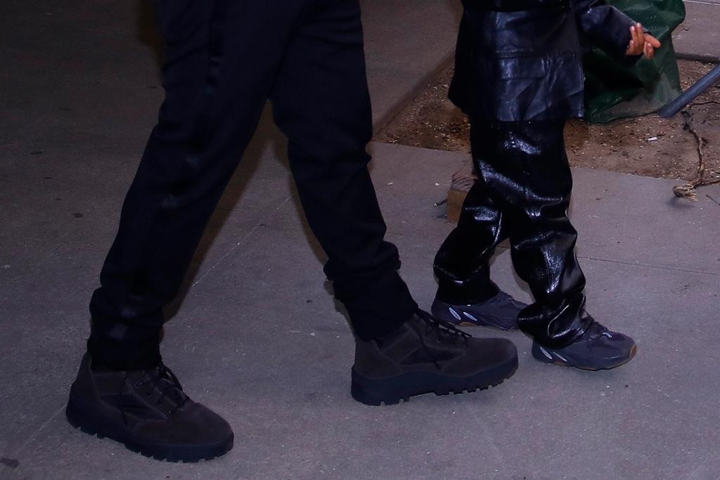 kim kardashian, kanye west, nutcracker, purple shoes, saint, north