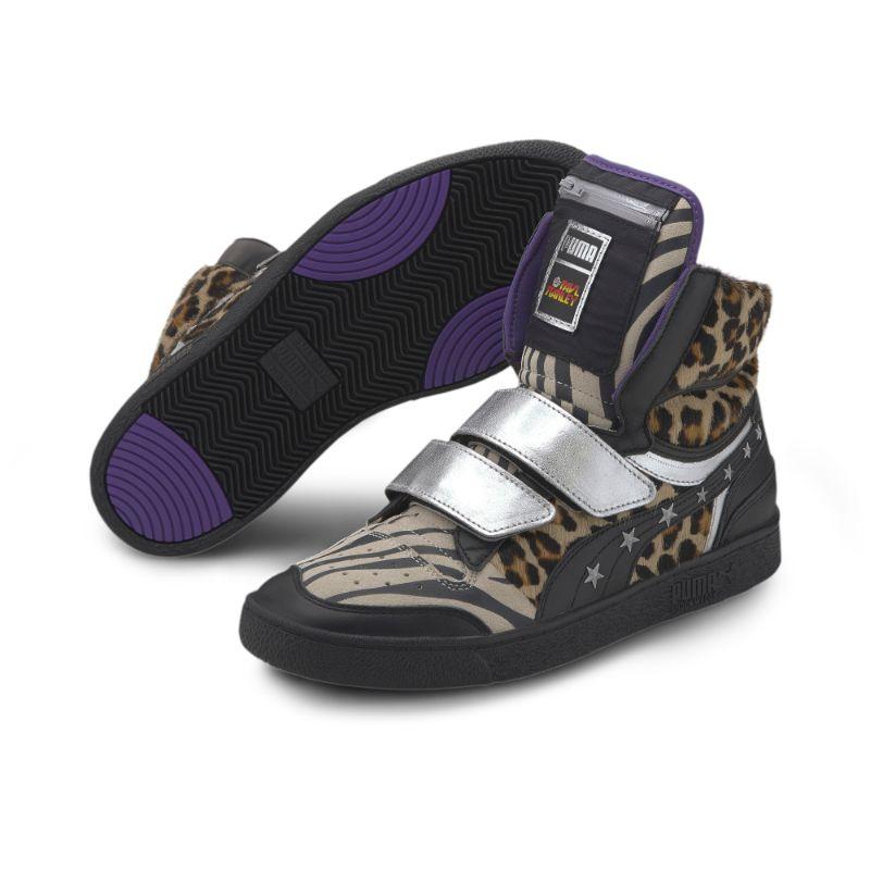 puma, paul stanley, sneakers, collab, animal print
