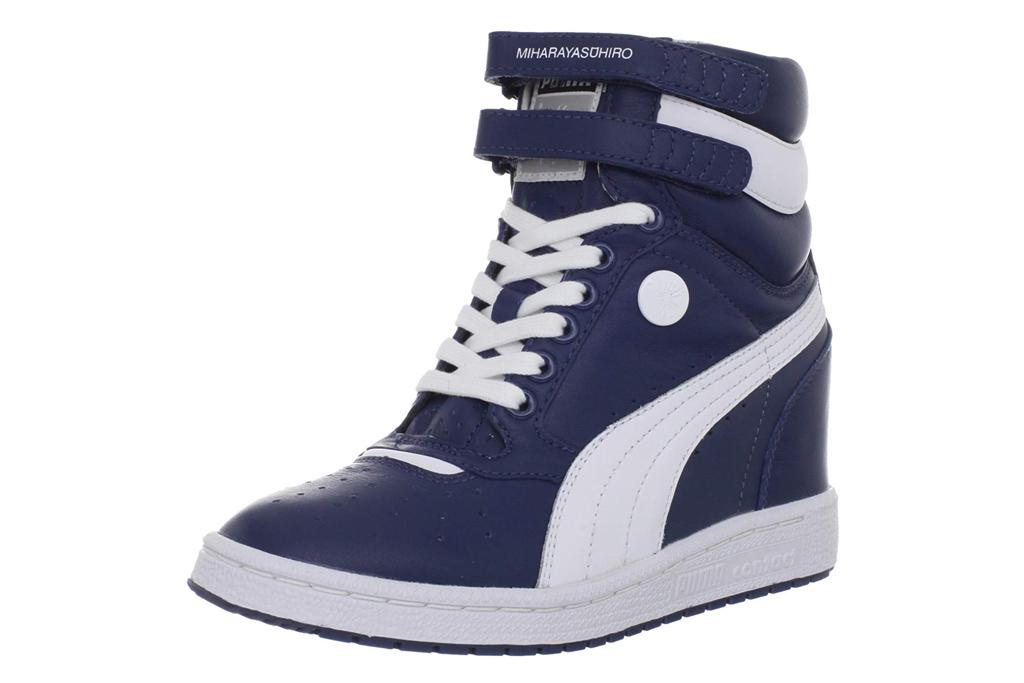 puma wedged sneakers