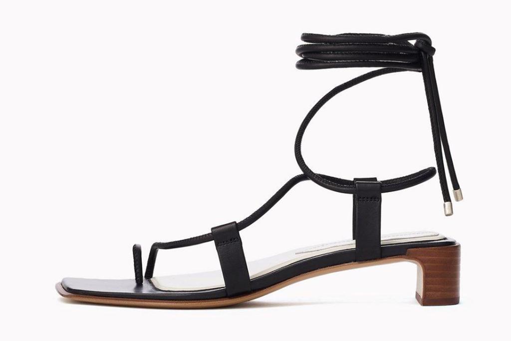 Rag and Bone shoe, square toe trend, super model style