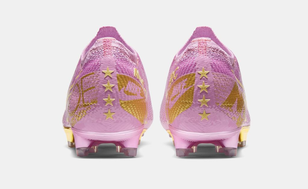 Megan Rapinoe Pink Nike Vapor Elite Soccer Cleats