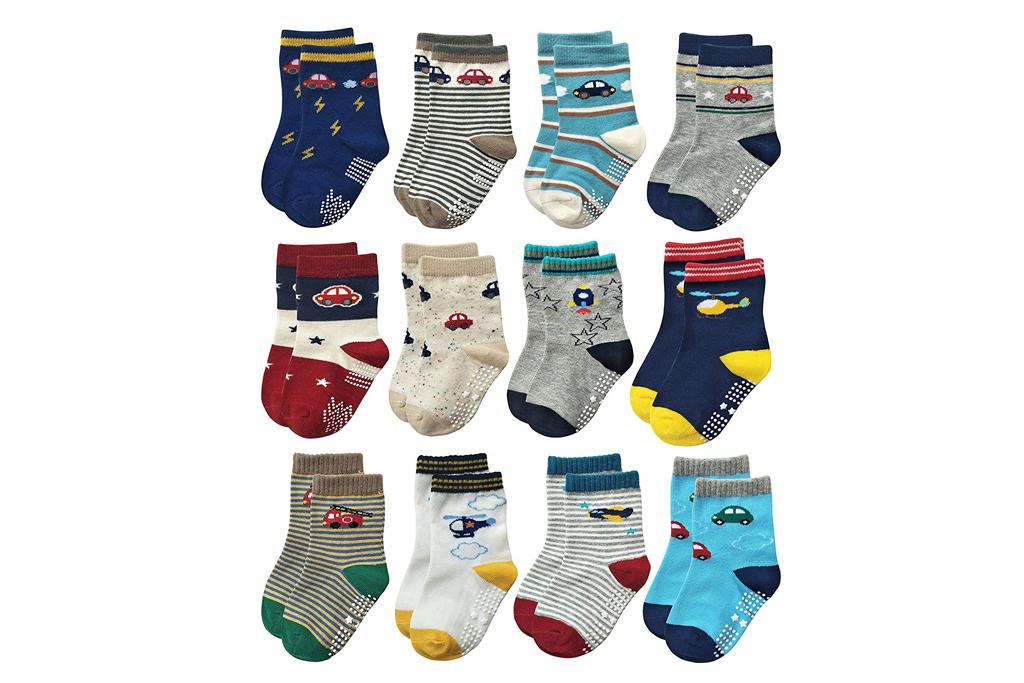rative baby grip socks
