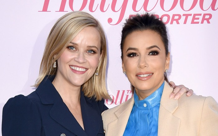 Reese Witherspoon, Eva Longoria, the hollywood reporter