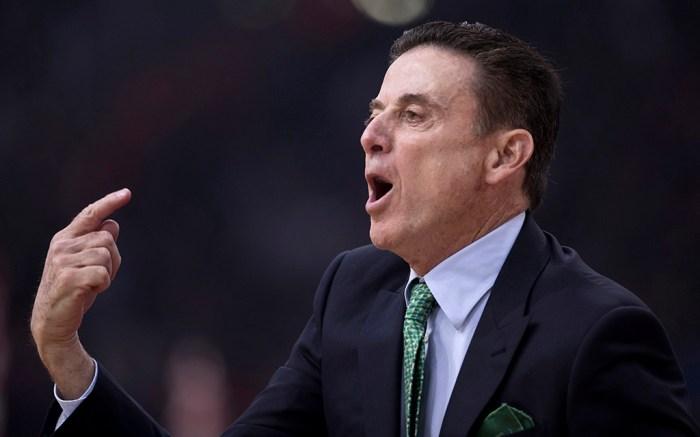 Panathinaikos coach Rick Pitino