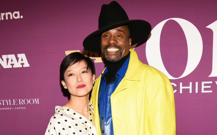Billy Porter, 2019 FNAAs, footwear news achievement awards, sandra choi, jimmy choo