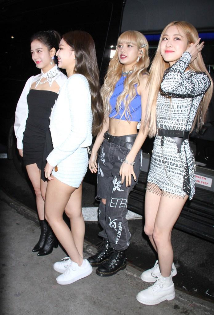 BlackPink - Jisoo, Jennie Kim, Lisa Manoban, Rose'Good Morning America' TV show, New York, USA - 12 Feb 2019