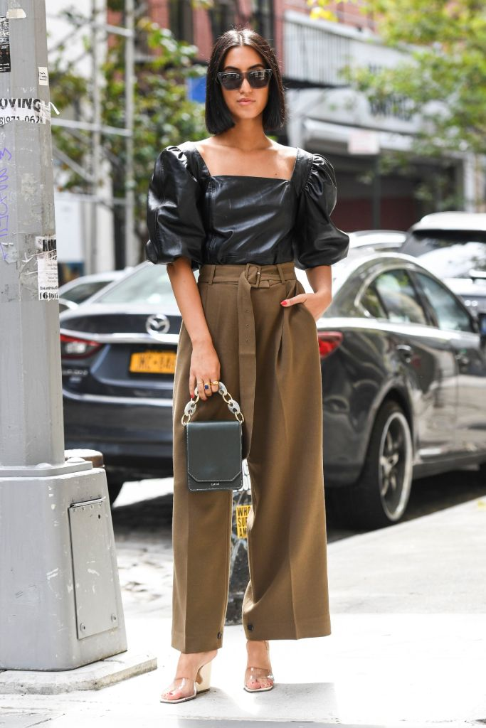 top, trends, 2019, street, style, square, toe, wedge