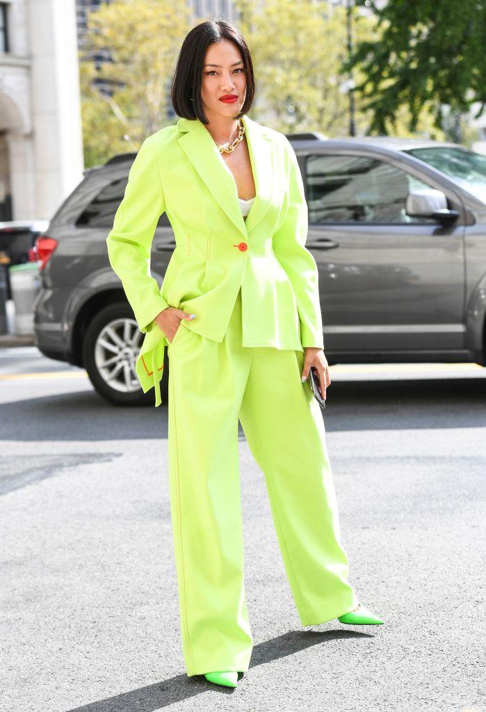Tiffany Hsu, Street Style, Spring Summer 2020, New York Fashion Week, top, trends, fashion, 2019