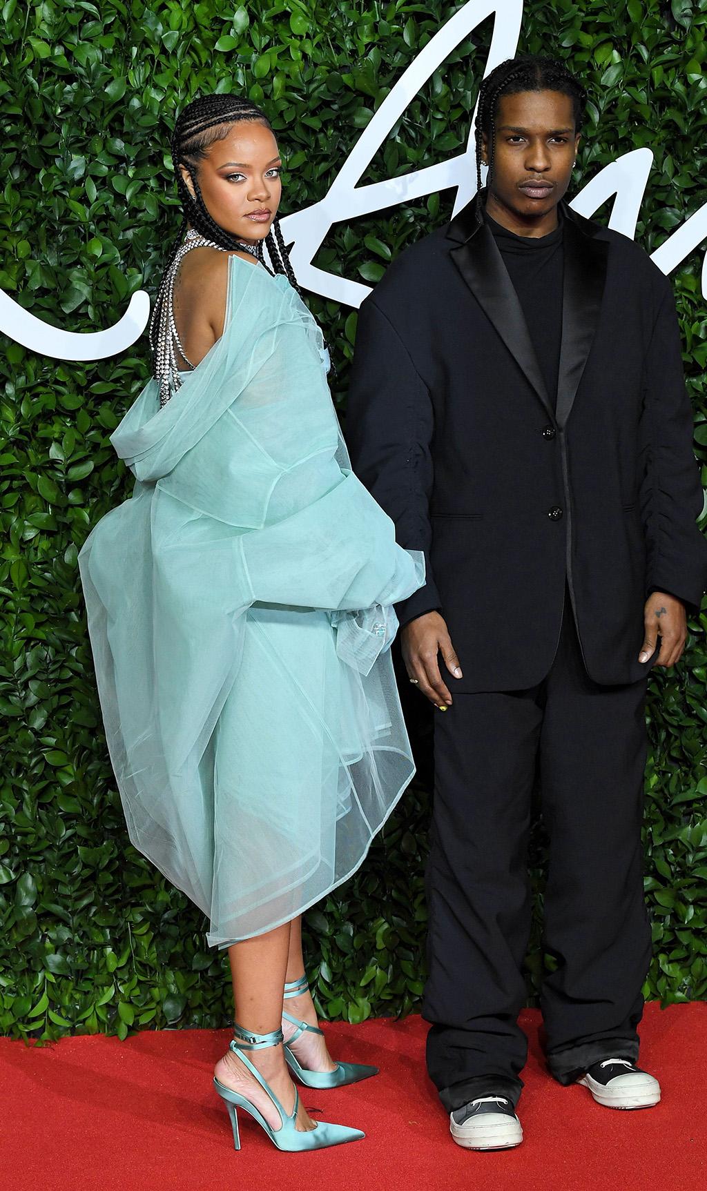 Rihanna and ASAP RockyThe Fashion Awards, Arrivals, Royal Albert Hall, London, UK - 02 Dec 2019