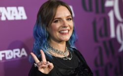 Tove Lo attends the 2019 Footwear