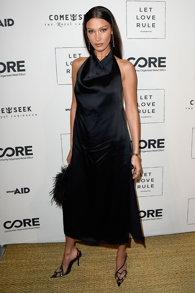 Bella Hadid Core x Let Love Rule, Art Basel, Miami, USA - 05 Dec 2019Lenny Kravitz and Sean Penn host special evening of entertainment to support hurricane relief in the Bahamas. The event was held at the SOHO Beach House in Miami Beach, Florida. Wearing Bevza