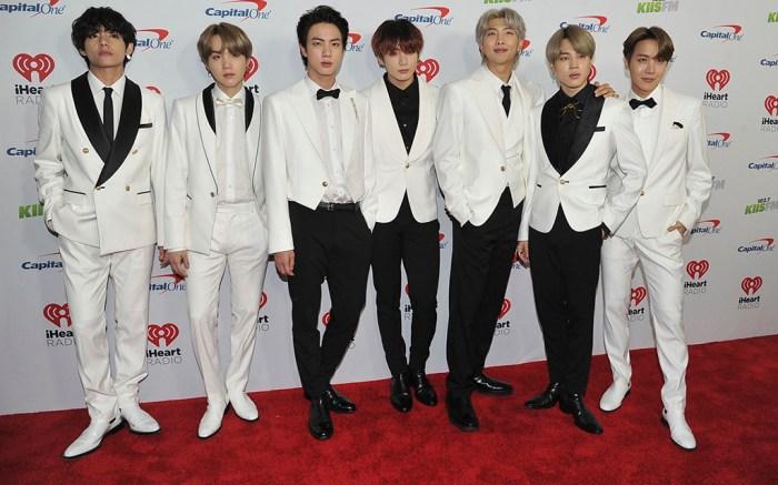 BTS KIIS-FM iHeartRadio Jingle Ball, Arrivals, The Forum, Los Angeles, USA - 06 Dec 2019
