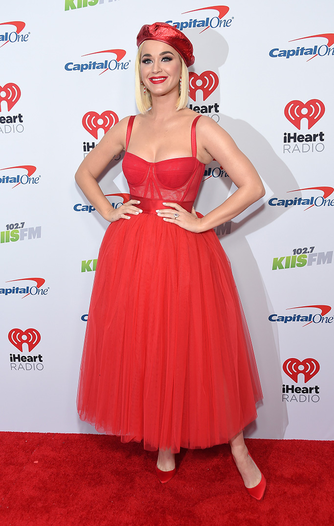 Katy Perry KIIS-FM iHeartRadio Jingle Ball, Arrivals, The Forum, Los Angeles, USA - 06 Dec 2019