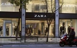 An exterior view of a Zara