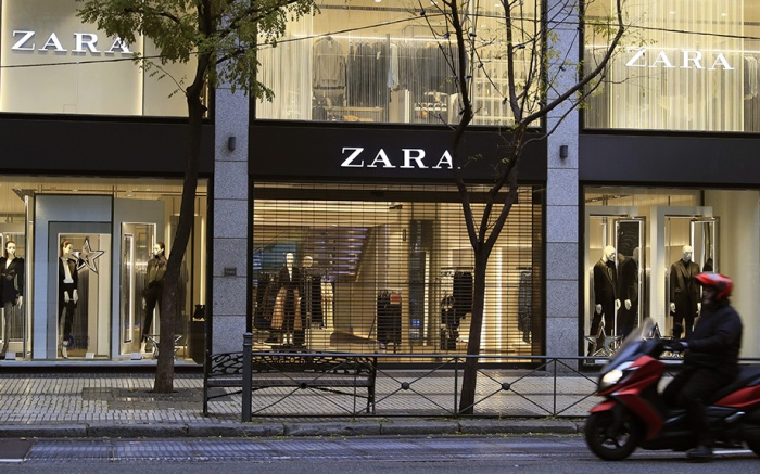 An exterior view of a Zara store in Madrid, Spain, 11 December 2019. Spanish clothing company Inditex, owner of Zara, announced a 12 percent increase in benefits in the last nine months with a net profit of 2,720 million euro, a 12 percent more than the previous year after an increase of 7.5 percent in sales.Spanish clothing company Inditex announces 12 percent increase in benefits in nine months, Madrid, Spain - 11 Dec 2019