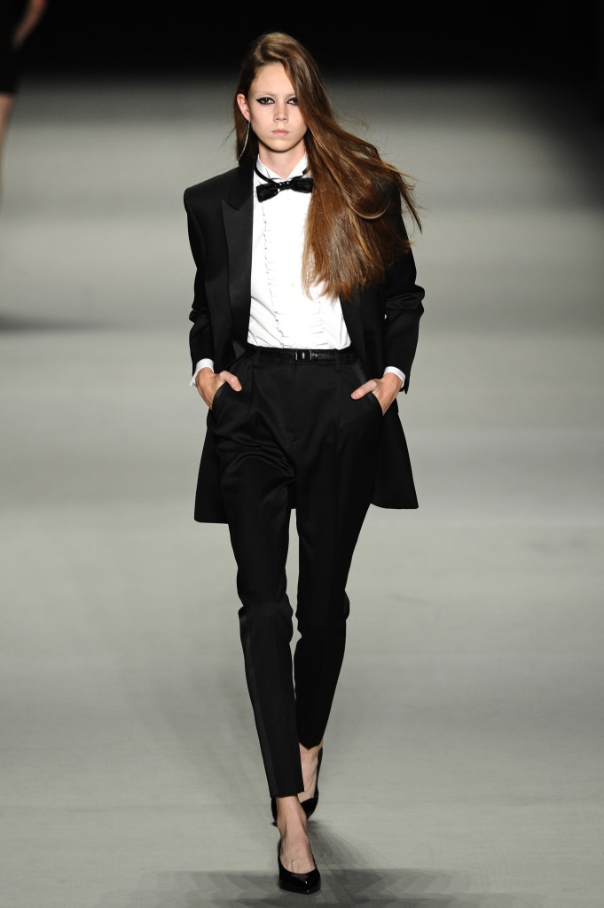 saint, laurent, le smoking, tuxedo, genderless, fashion