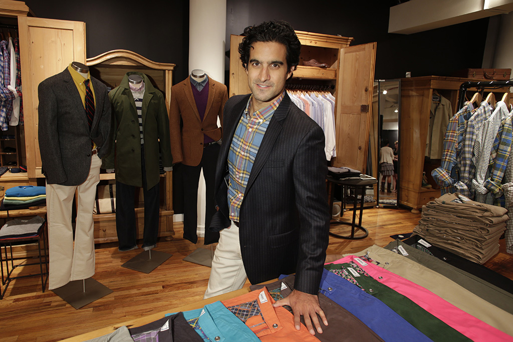 Bonobos founder and ceo Andy Dunn at Bonobos guideshop in Manhattan.Andy Dunn, New York