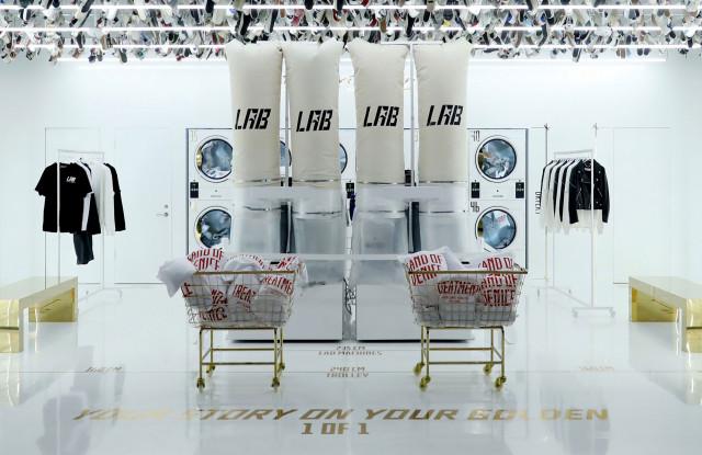 Golden Goose Beijing lab unit concept store.