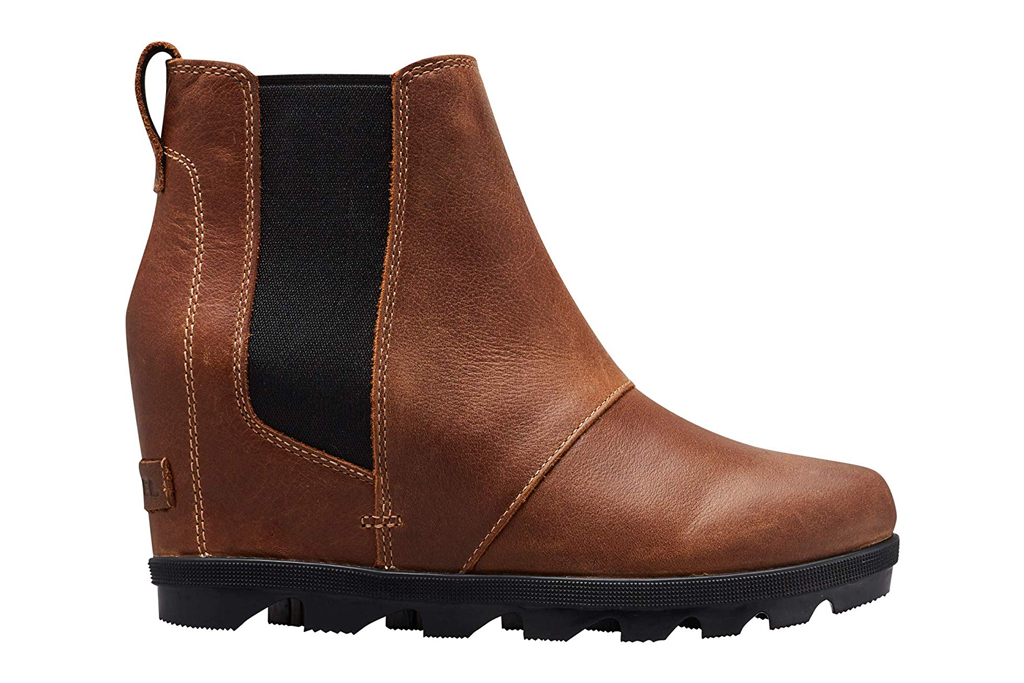 sorel hidden wedge booties
