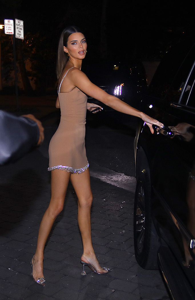 Kendall Jenner shows off her night style as she heads to the posh eatery Cipriani during Art Basel in Miami. The supermodel opened her own door as she headed out with some friend in the late evening.Pictured: Kendall JennerRef: SPL5134128 071219 NON-EXCLUSIVEPicture by: Ang+JL/Splashnews / SplashNews.comSplash News and PicturesLos Angeles: 310-821-2666New York: 212-619-2666London: +44 (0)20 7644 7656Berlin: +49 175 3764 166photodesk@splashnews.comWorld Rights