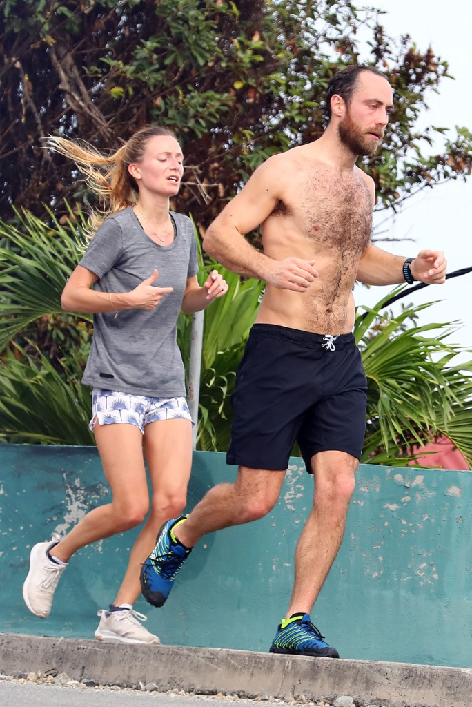 james middleton, shirtless, running, st barths, vacation, alizee thevenet, sneakers, British Socialite James Matthews Junior and fiancee Alizee Thevenet pictured while out jogging around in the early morning in St Barts.Pictured: Alizee Thevenet,James Matthews Jr.Ref: SPL5137679 311219 NON-EXCLUSIVEPicture by: AbacaPress / SplashNews.comSplash News and PicturesLos Angeles: 310-821-2666New York: 212-619-2666London: +44 (0)20 7644 7656Berlin: +49 175 3764 166photodesk@splashnews.comUnited Arab Emirates Rights, Australia Rights, Bahrain Rights, Canada Rights, Finland Rights, Greece Rights, India Rights, Israel Rights, South Korea Rights, New Zealand Rights, Qatar Rights, Saudi Arabia Rights, Singapore Rights, Thailand Rights, Taiwan Rights, United Kingdom Rights, United States of America RightsBritish Socialite James Matthews Junior and fiancee Alizee Thevenet pictured while out jogging around in the early morning in St Barts.Pictured: Alizee Thevenet,James Matthews Jr.Ref: SPL5137679 311219 NON-EXCLUSIVEPicture by: AbacaPress / SplashNews.comSplash News and PicturesLos Angeles: 310-821-2666New York: 212-619-2666London: +44 (0)20 7644 7656Berlin: +49 175 3764 166photodesk@splashnews.comUnited Arab Emirates Rights, Australia Rights, Bahrain Rights, Canada Rights, Finland Rights, Greece Rights, India Rights, Israel Rights, South Korea Rights, New Zealand Rights, Qatar Rights, Saudi Arabia Rights, Singapore Rights, Thailand Rights, Taiwan Rights, United Kingdom Rights, United States of America Rights