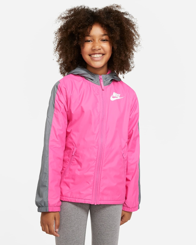 nike fleecelined jacket