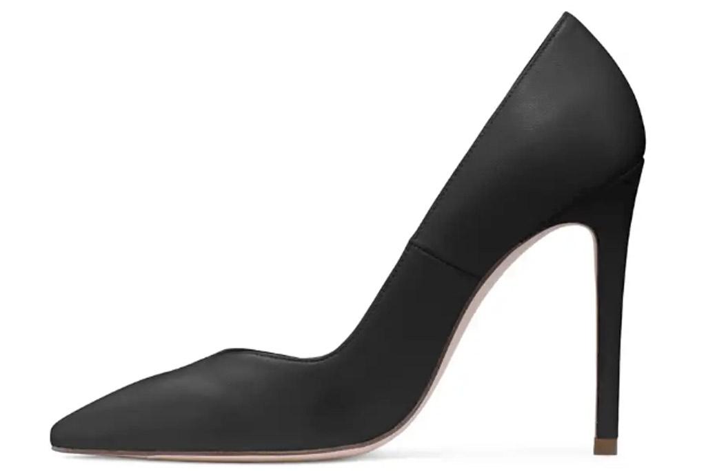 Stuart Weitzman Anny, classic black pumps, stilettos