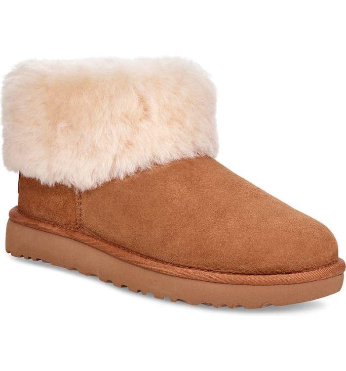 ugg mini fluff boot