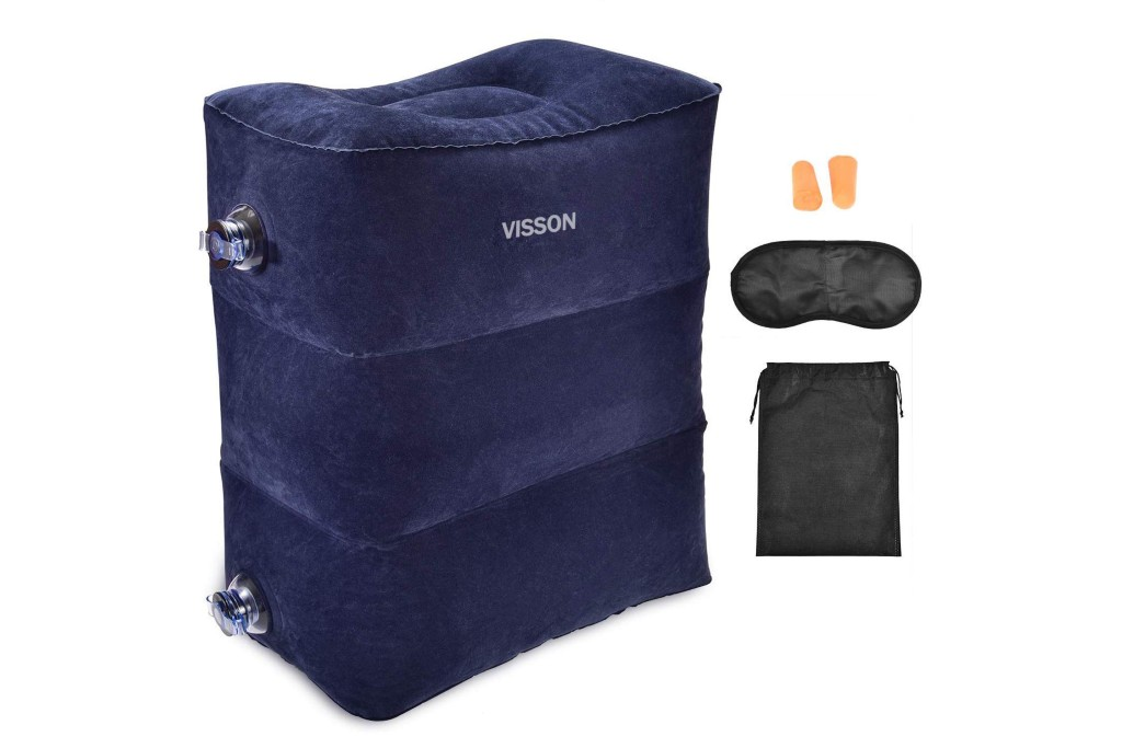 visson inflatable foot pillow