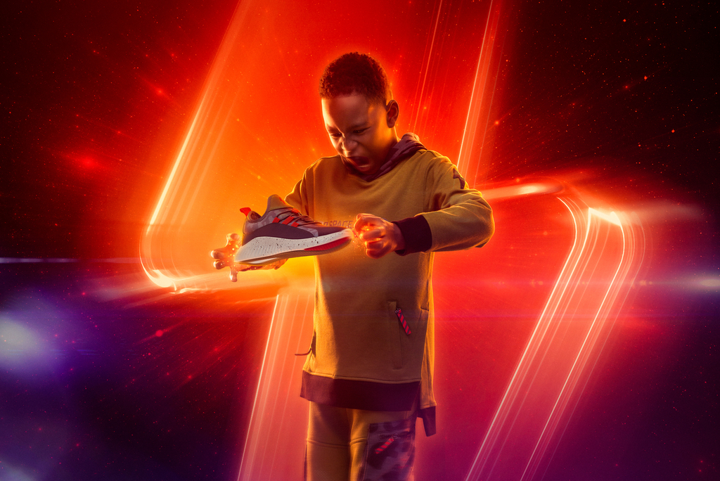 NASA, Super Heroic, shoes, sneakers, collab