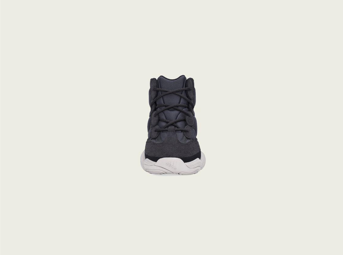 yeezy, adidas, yeezy 500 high, slate, sneaker
